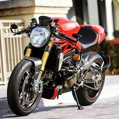 Motorcycle Handle Bar End Rearview Mirrors For Ducati Monster 795 821 1200 Ducati Desmo, Ducati Motorbike, Moto Ducati, Honda Motorcycles, Custom Motorcycles, Custom Bikes, Vintage Motorcycles, Ducati Monster 695, Ducati Monster Custom