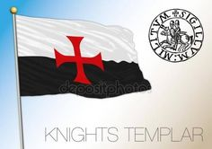 Historical flag of the Knights Templar — Vettoriali Stock © frizio Ontario, Crusader Knight, Flag Signs, Flags Of The World, Knights Templar, Canada, Coat Of Arms, Cool Drawings, Art History