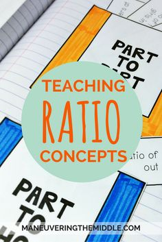 Math teachers, do you love teaching ratios? A great freebie and some other resources to support ratio concepts. These models would be used to teach ratio concepts. Math Tutor, Math Teacher, Teaching Math, Math Classroom, Gcse Math, Teaching Fractions, Teacher Blogs, Future Classroom, Maths