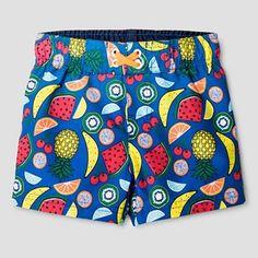 Baby Boys' Fruit Print Swim Trunk Cat & Jack™ - Blue