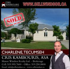If you are ready to buy or sell a home in Windsor - Essex County call me today! I'm here to help! www.sellwindsor.ca - Ph. 519.995.7600 ‪