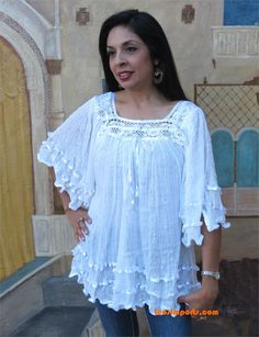 Mexican angel blouses   Mexican Blouse Angelita