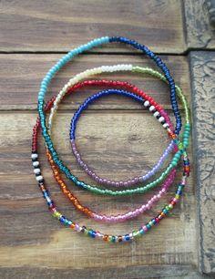 Ombre de arco iris colorido de venta 4 flacos x wrap por slashKnots