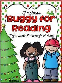 Christmas - Reading Group, Center, and Homework  #TPT #TeachersFollowTeachers $