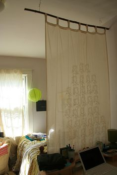 Pipe Dreams AKA Build a DIY Curtain Rod in 10 minutes How To and