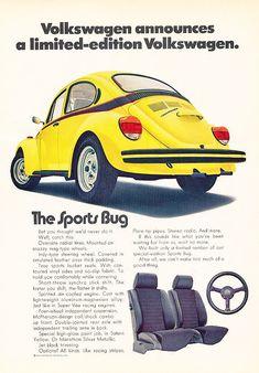 1973 Volkswagen VW Sports Bug