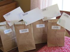 Set up students to be successful on testing days with encouraging Snacks: Send 4 paper bags along with 4 index cards, and an instruction sheet home to parents.  Have them fill these bags with snacks for their favorite little third grader, and to include a note of encouragement and/or pride.