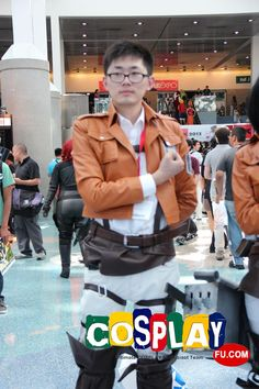 Armin Arlelt Cosplay From Attack On Titan In Anime Expo 2013 US