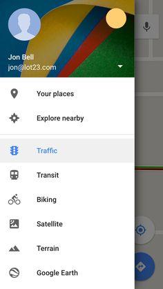 app hamburger menu linkedin - Google Search
