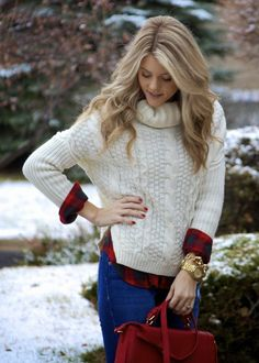 e6d337ffae8d Match-sweater-with-outfits Sweater Wearing Ideas-17 Ways to Style Sweater