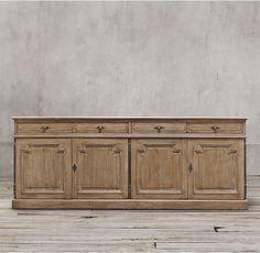 Option: Montpellier Panel Wood Sideboard - RH