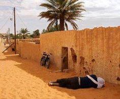حي البترول .. الجنوب الليبي | via Facebook