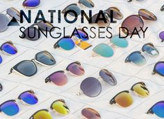 Get your shades ready, National Sunglasses Day is June 27! We celebrate this holiday annually in late June. Not only do sunglasses protect our eyes from the sun, but they are also a stylish accessory that also needs protection. With unique custom sunglass packaging, we can protect our eyewear along with protecting our eyes. NEW! On our blog. Ultra Violet, Packaging News, Eyewear, Sunglasses, Stylish, Celebrities, Unique, June, Shades