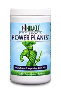 Doc Broc's Power Plants green drink powder