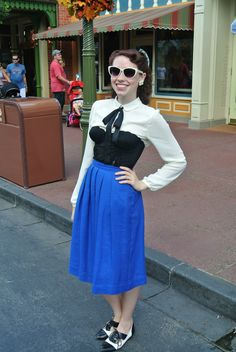 """Kiss the Girl"" Disneybound for Dapper Day"