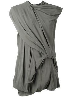 RICK OWENS Drape Dress. #rickowens #cloth #dress