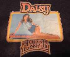 VINTAGE MENS DAISY DUKE, DUKES OF HAZZARD T-SHIRT W/ GENERAL LEE DODGE CHARGER