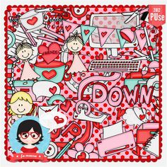 Kit - Up Down by Fa Maura [FaMaura_KitUpDown] - $5.60 : FaMaura.com - scrapshop