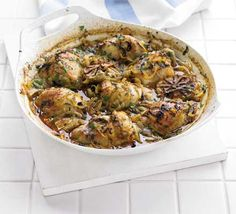 Spanish chicken. For maximum flavour and minimum washing up, try this tasty one-pot