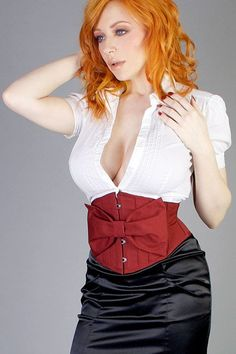 67c32880fa9 Items similar to Bloom Waist Cinching Underbust Waspie Corset (Removable  Bow) - CUSTOM your SIZE and COLOR on Etsy