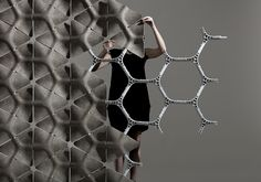 benjamin hubert / layer design conceives 'scale' - a modular acoustic partition system