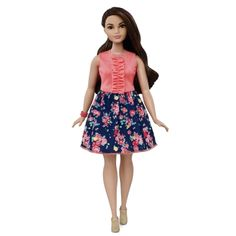 Barbie® Fashionistas™ Doll 26 Spring Into Style - Curvy - Finally a more realistic body for Barbie!!! Shop.Mattel.com