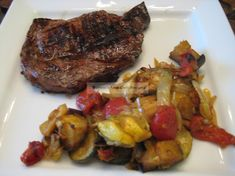 Roasted Summer Vegetables – Buttoni's Low-Carb Recipes Grilled Fish Recipes, Grilled Meat, Spicy Recipes, Grilling Recipes, Low Carb Recipes, Roasted Summer Vegetables, Low Carb Vegetables, Veggies, Shawarma Spices