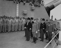 V-J Day on the USS Missouri