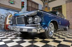 1962 Chrysler, Imperial Crown 4-Dr HT Southhampton  16950.00 EUR  1962 Chrysler Imperial Crown 4-Dr HT Southhampton   Year built: 1962  Color: Blue  Engine: 6.8 liter V8 engine (413)  Power: 340 pk  Productions Number: 6911  KM as 74,600  Transmission: Automatic (Push Button Automatic) Origin: USA, Michigan   This Imperial is very rare. There were only 6911 productions of this classic car.   It is in a good and completely original conditi ..  http://www.collectioncar.com/detailed..
