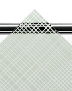 ARC-ammeseinissä voit valita lasin kuudesta vaihtoehdosta. Kuvassa textur-lasi.