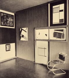 Alexander Dorner - Hannover Museum, 1928. Dorner rethought the museum as an institution in a state of permanent transformation.