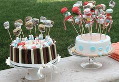 torta di caramelle ecioccolate