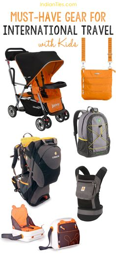 must have gear for international travel with kids