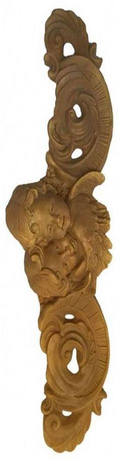 Cabecero de dos ángeles delicado adorno para colocar sobre tu cama y adornar tu dormitorio. Disponible online en Topaz tienda de manualidades en Madrid. Regalo, diy, beds, bedrooms, cumpleaños, navidad, figura resina.