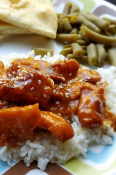 """Slow Cooker Sesame Chicken 