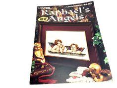 Raphael Angels Christmas Angel Cross Stitch Pattern Angel | Etsy Christmas Cross, Christmas Angels, Raphael Angel, Handmade Crafts, Etsy Handmade, Craft Patterns, Cross Stitch Patterns, Stitches, Art Projects