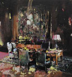 Pie Fight Interior (ne en 1977), Adrian Ghenie
