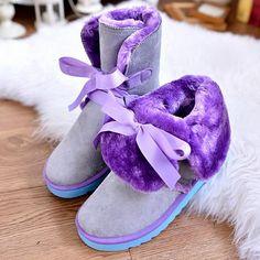 【限时抢购49.9】2014冬季热卖韩版短筒保暖鞋雪地靴平跟...