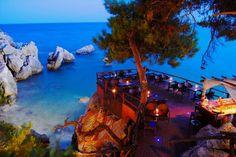 Seaside Restaurant , Taverna in Paliouri , Halkidiki , Greece