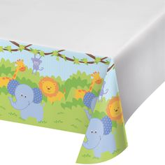 48 x 88 Plastic Tablecover Forest Friends/Case of 12 https://www.ktsupply.com/products/32786326450/48-x-88-Plastic-Tablecover-Forest-FriendsCase-of-12.html