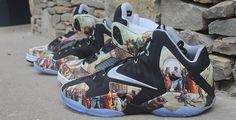 Air Jordan 5 and Nike LeBron 11 Renaissance Customs