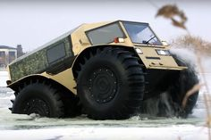 WATCH:THIS INSANE RUSSIAN TRUCK IS THE ATV JUGGERNAUT OF OUR DREAMS