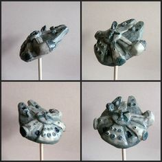 Millenium Falcon Cake Pop - tasty and can make the kessel run in 12 licks
