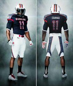 Carolina reveals new Uniforms. Go Gamecocks!