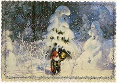Christmas postcard from Finland by katya