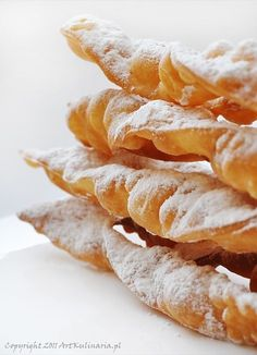 Greek Donuts, Greek Yogurt Pancakes, Cinnamon Roll Waffles, Pumpkin Waffles, Scotch Pancakes, Pancakes And Waffles, Polish Desserts, Polish Recipes, Yorkshire Pudding Batter
