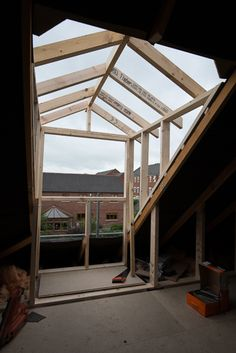 Dormer window construction