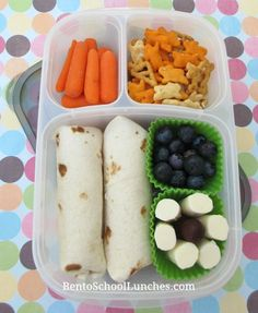 Tortilla wraps lunch