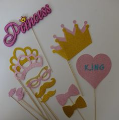 Princess Party Props PC  Wedding Photo Booth Party by PICWRAP, $28.99