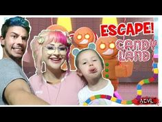 We tried to Escape Candy Land Roblox Obby // Game Play by ACYL Gaming. Check out our Family us we try and escape this jumping puzzle in Candy Land Roblox Hop. Candy Land, Games To Play, Gaming, Youtube, Fun, Videogames, Game, Youtubers, Youtube Movies